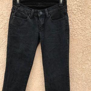 Black BCBGmaxazria Jeans size 25 straight leg